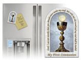 My First Holy Communion Arched Magnet