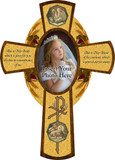 Picture Frame Wood Cross