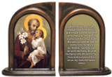 St. Joseph (Younger) Bookends