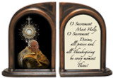 St. John Paul II with Monstrance Bookends