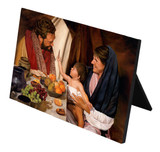 The Holy Family Horizontal Desk Plaque