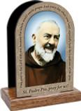 St. Padre Pio Prayer Table Organizers (Vertical)