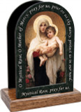 Madonna of the Roses Prayer Table Organizer (Vertical)