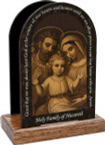 Holy Family of Nazareth Prayer Table Organizer (Vertical)