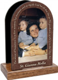St. Gianna Molla Prayer Table Organizer (Vertical)
