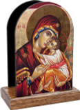 Icon of Mary Table Organizers (Vertical)