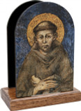 St. Francis of Assisi Table Organizer (Vertical)