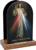 Divine Mercy Jesus I Trust in You Table Organizer (Vertical)