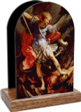 St. Michael the Archangels Table Organizer (Vertical)