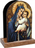 Our Lady of Mt. Carmel Table Organizer (Vertical)