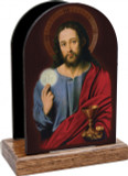 Christ with Eucharist Table Organizer (Vertical)