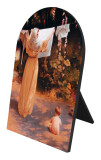 Polish Madonna Arched Desk Plaque
