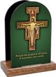 Preach the Gospel Cross Table Organizer (Vertical)