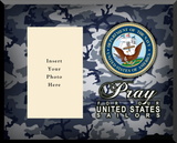 Navy Photo Frame