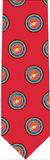 Marine Pattern Tie