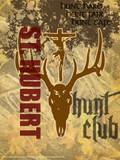 St. Hubert Graphic Poster