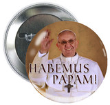 Pope Francis in Celebration Button
