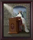 """St. Bridget of Sweden"" by Nellie Edwards"