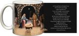 """Adoration (Nativity)"" by Nellie Edwards Mug"