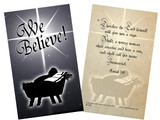We Believe Holy Card