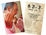 St. Padre Pio Holy Card