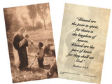 Gift of the Shepherd Prayer Holy Card
