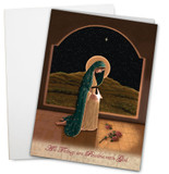 """Mother of Life"" by Nellie Edwards Greeting Cards"