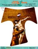 St Francis Tau Cross Decal