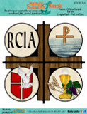 RCIA Cross Decal