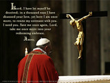 Pope Francis' Daily Prayer of Turning To Christ Poster