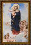 Notre Dame des Anges by William Bouguereau - Gold Framed Art