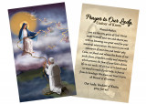 """Our Lady Undoer of Knots"" by Nellie Edwards Holy Card"