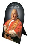 Pope St. John XXIII Arched Desk Plaque