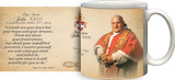 Pope John XXIII Sainthood Portrait Commemorative Quote Mug