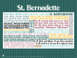 Saint Bernadette Quote Poster