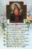 Sacred Heart House Blessing print in assorted frames
