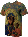 Our Lady of Czestochowa Graphic Poly T Shirt