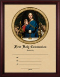 Madonna of the Host - Cherry Framed Certificate