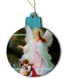 Guardian Angel Wood Ornament