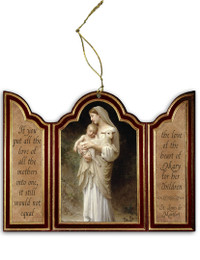 L'Innocence Triptych Wood Ornament