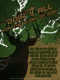 """Doing It All"" Hunting Poster"