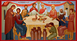 """The Wedding Feast of Cana"" Icon Wall Plaque"