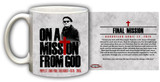 St. John Paul II On A Mission from God Mug