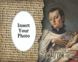 St. Aloysius Photo Frame