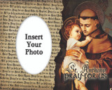 St. Anthony Of Padua Photo Frame