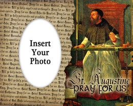 St. Augustine Photo Frame