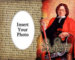St. Florian Photo Frame