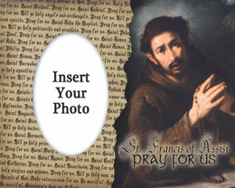 St. Francis of Assisi Picture Frame 2