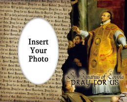 St. Ignatius of Loyola Photo Frame