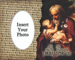 St. Joseph Photo Frame